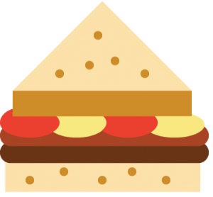 Sandwich color