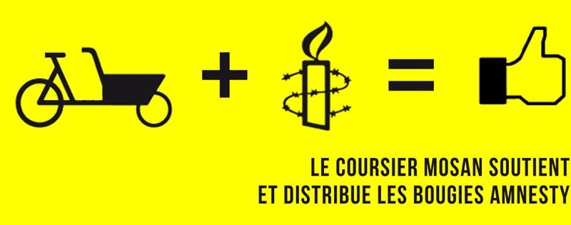 Amnesty - livraison de bougies